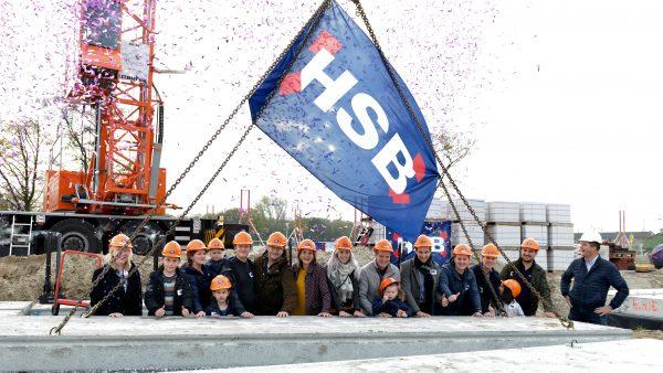 Feestelijke start bouw Souveryn te Hilversum