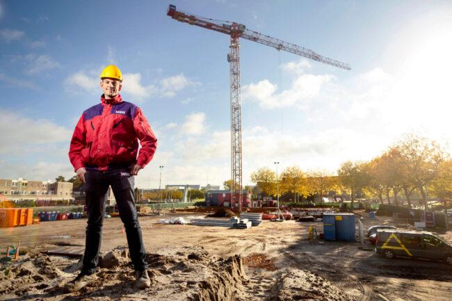 Hoofd-uitvoerder Martijn Smit voelt zich ondernemer binnen HSB